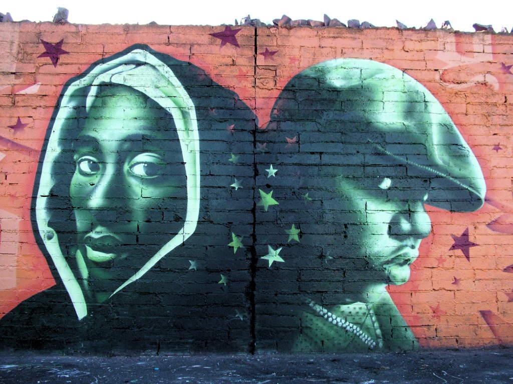Modern graffiti thamn magazine for Biggie smalls mural brooklyn